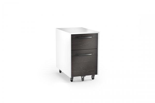 Format 6307 Mobile File Pedestal Charcoal / Satin White