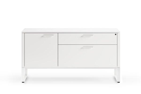 BDI Linea 6220 Satin White Multifunction Cabinet
