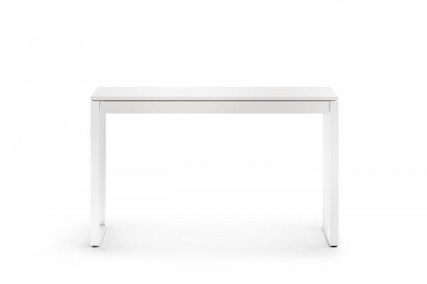 BDI Linea 6222 Satin White Console Desk