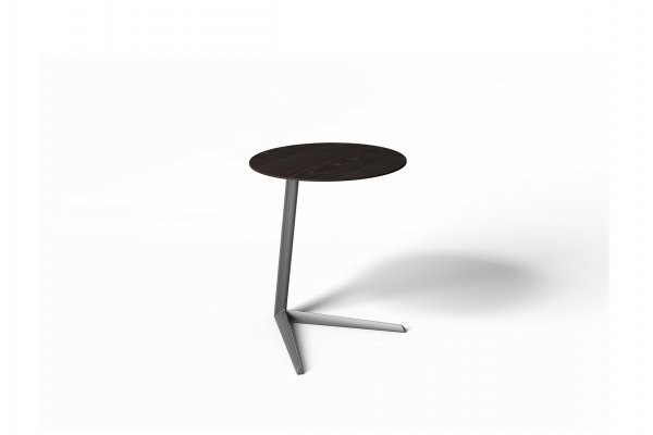Milo 1055 Laptop Table Charcoal Stained Ash