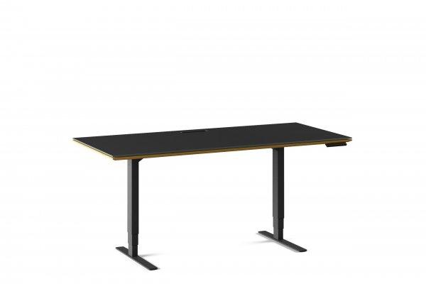 Sequel 20 6152 Lift Standing Desk Natural Walnut