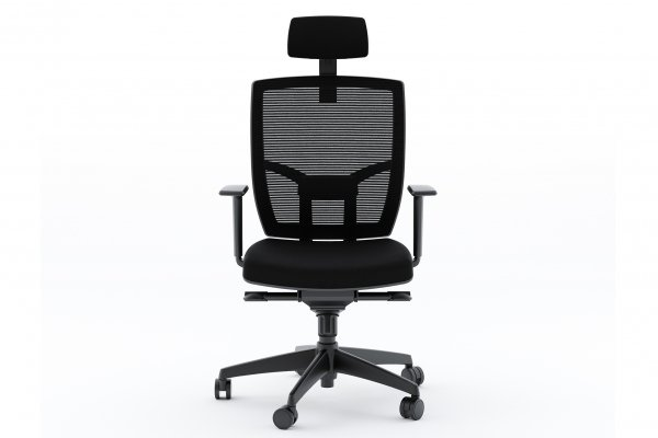 BDI TC-223 Black Fabric Office Chair