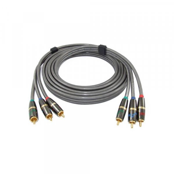 Fisual Super Pearl Silver Reference Component Video Cable 3m