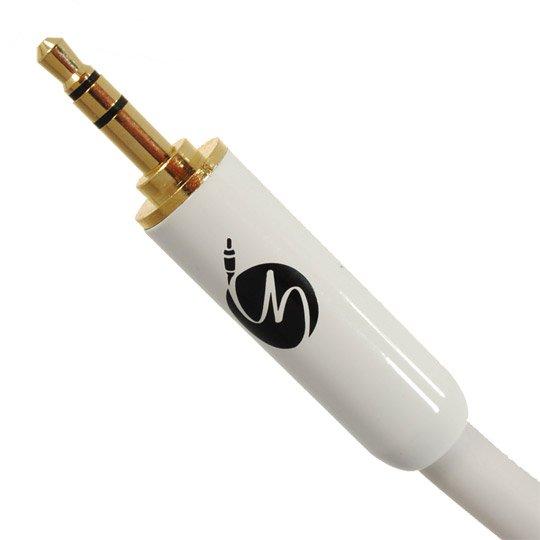 Fisual S-Flex 3.5mm Jack Plug White