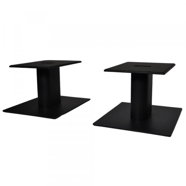 Fisual Dynami Matte Black Medium Desktop Speaker Stands (Pair)
