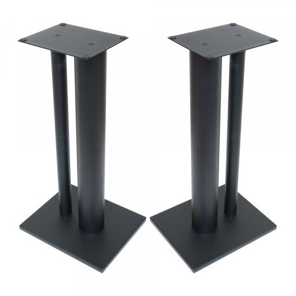 Fisual Dynami Duo Matte Black Speaker Stands 600mm (Pair)