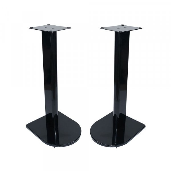Fisual Dynami Uno Gloss Black Speaker Stands 600mm (Pair)