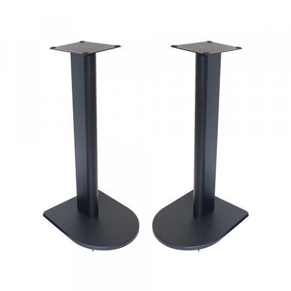 Fisual Dynami Uno Matte Black Speaker Stands 500mm (Pair)