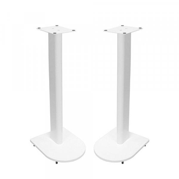Fisual Dynami Uno Matte White Speaker Stands 750mm (Pair)