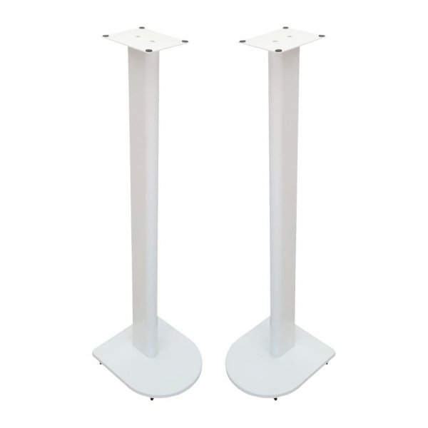 Fisual Dynami Uno Gloss White Speaker Stands 900mm (Pair)