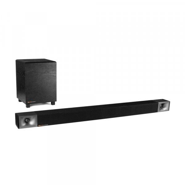 Klipsch Cinema 600 Black Soundbar w/ Wireless Subwoofer