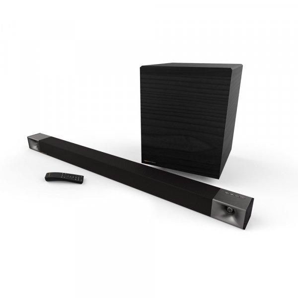 Klipsch Cinema 800 Black Soundbar w/ Wireless Subwoofer