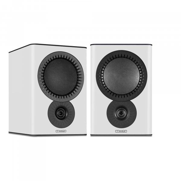 Mission QX-2 MkII White Bookshelf Speakers (Pair)