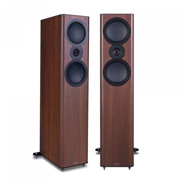 Mission QX-4 MkII Walnut Floorstanding Speakers (Pair)