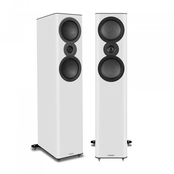 Mission QX-4 MkII White Floorstanding Speakers (Pair)