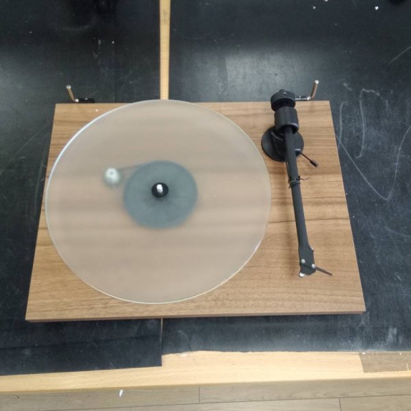 Pro-Ject T1 Walnut Bluetooth Turntable (Cartridge Included)