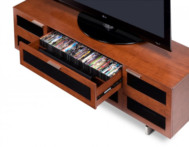 Avion 8929 TV Cabinet Natural Stained Cherry