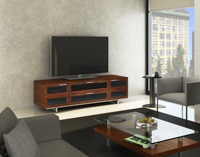 Avion 8929 TV Cabinet Chocolate Stained Walnut