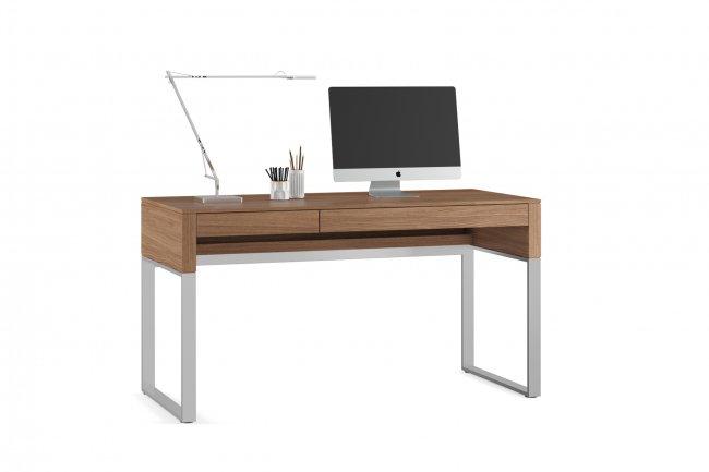 Cascadia 6201 Desk Natural Walnut