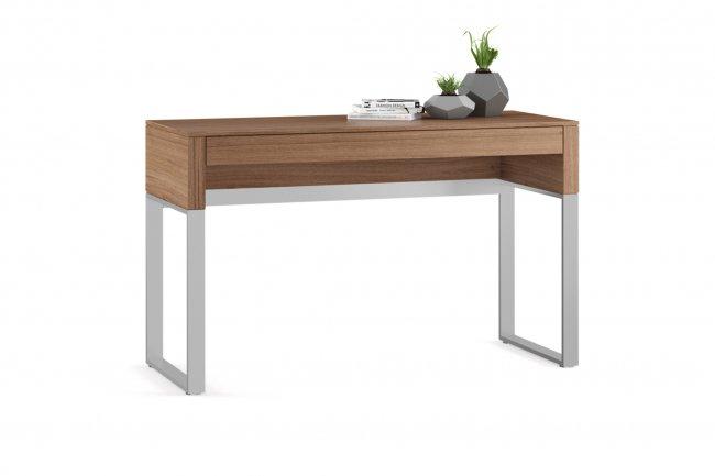 Cascadia 6202 Console/Laptop Desk Natural Walnut