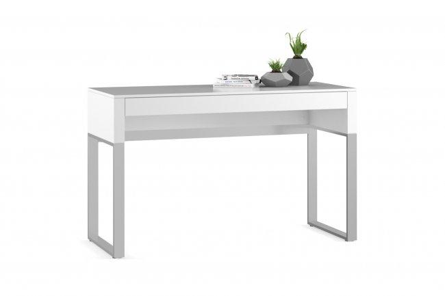 Cascadia 6202 Console/Laptop Desk Smooth Satin White