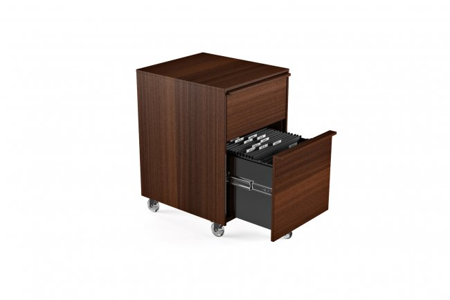 Cascadia 6207 Mobile File Pedestal Chocolate Stained Walnut