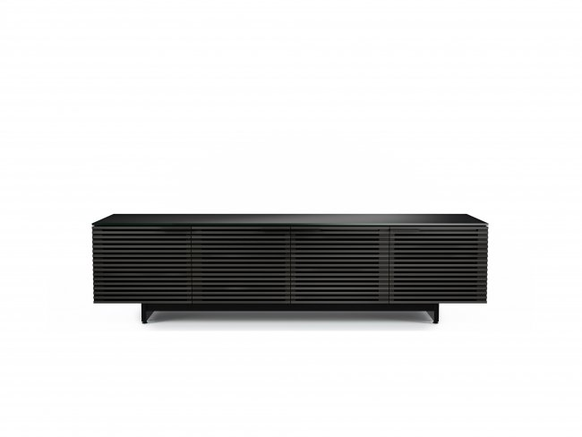 Corridor 8173 Media Cabinet Charcoal Stained Ash