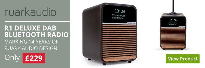 Ruark Audio R1 MKIV Espresso Deluxe Bluetooth Radio