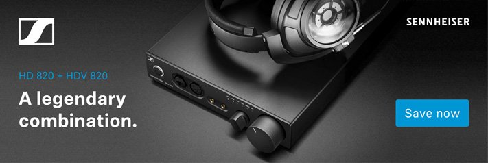 Sennheiser HD 820 + HDV 820 A legendary combination